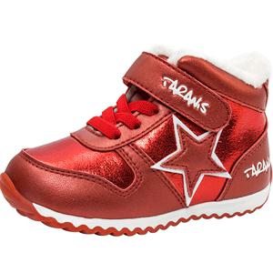 泰兰尼斯宝宝运动鞋2018冬季男女婴儿防水加绒加厚保暖棉鞋学步鞋