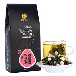 茗花有主蜜桃乌龙茶花果茶白桃乌龙茶日本茶冷泡茶花茶水果茶包