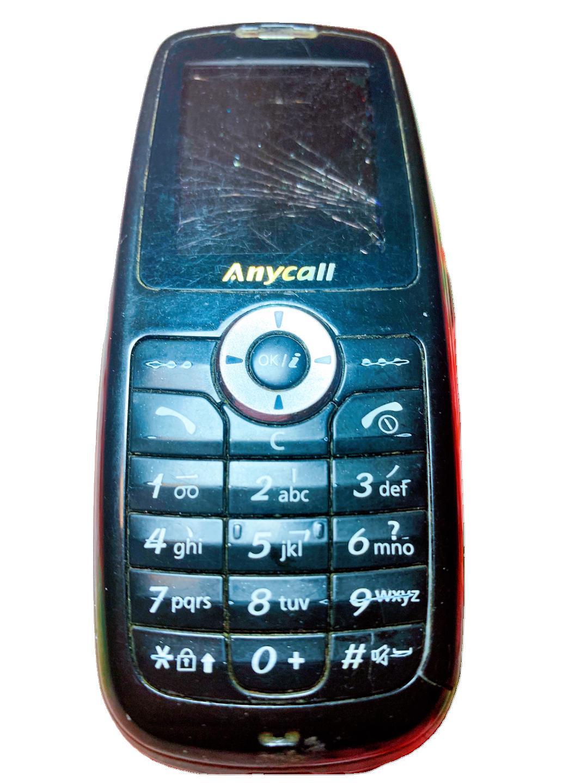 个人转让闲置 三星手机SGH-X628 机器显示屏幕已碎,外