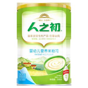 【4罐减60】人之初米粉 婴儿辅食 护肠米粉 宝宝辅食米糊425g