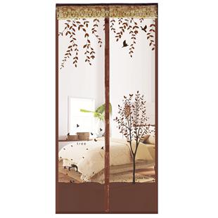 夏季防蚊门帘磁性魔术贴隔断纱门纱窗家用免打孔自吸磁铁对吸蚊帐