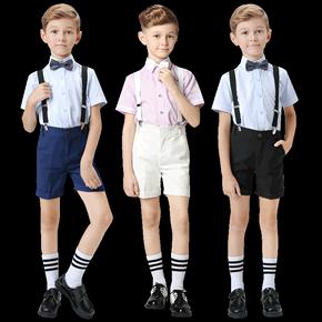 六一儿童演出服套装夏男