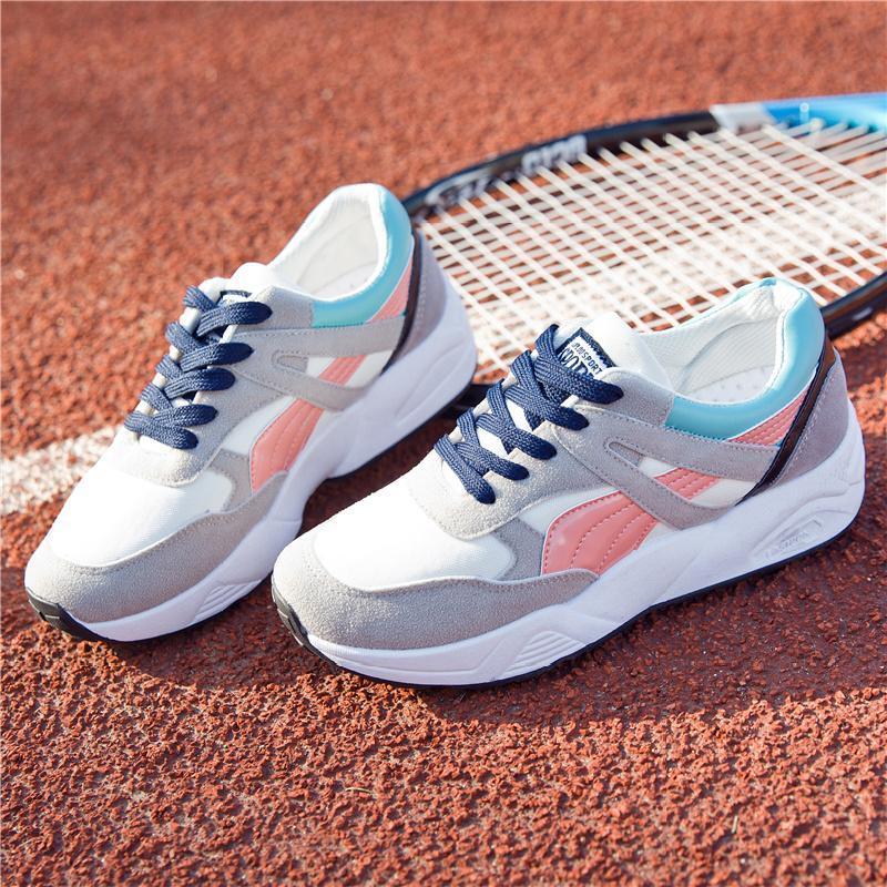 女鞋篮球鞋2019秋季新款休闲鞋低帮球鞋ins同款复古运动潮鞋