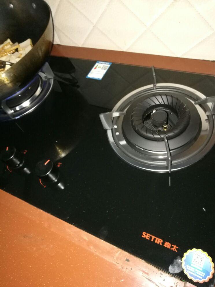 Setir/森太 T258煤气灶燃气灶双灶嵌入式天然气液化气不锈钢灶具- 第2张