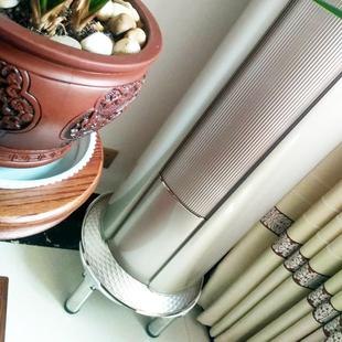 格力美的海尔奥克斯海信长虹圆柱空调底座圆形立式柜机垫加高架子