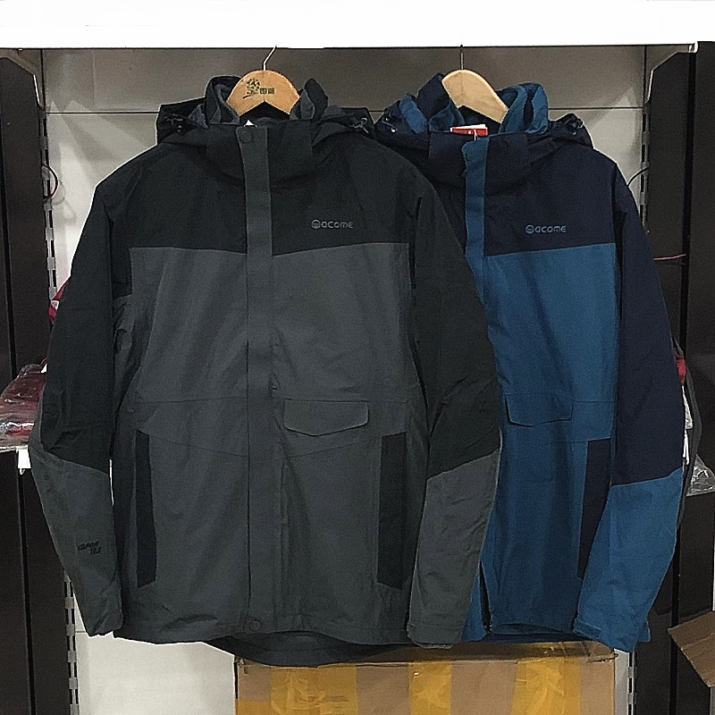 图途acome/阿珂姆 男女情侣款三合一冲锋衣AG172S1004/AG172S2004