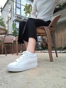 墨瓦DNA2020春款mowa魔术贴小白鞋男女百搭透气时尚配裙子夏季街
