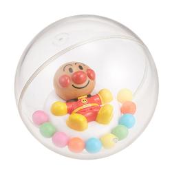 现货秒发日本进口面包超人浴室戏水洗澡游泳浴透明漂浮海洋球玩具