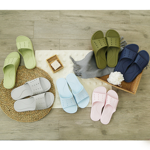 Slippers female summer-style indoor non-slip soft bottom bathing travel home household plastic couple bathroom male cool slippers