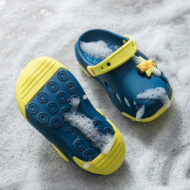 儿童拖鞋夏季防滑室内女童洞洞鞋家用婴幼儿宝宝1-3岁2凉拖鞋男童