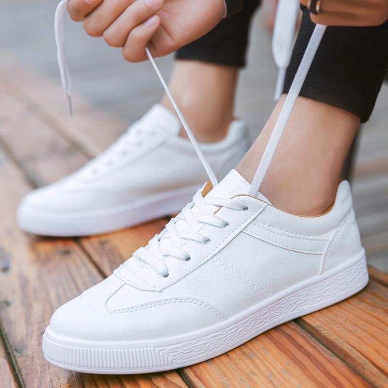 2019春季小白鞋男士运动休闲鞋透气潮流学生百搭白板鞋男鞋子透气
