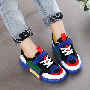 男童鞋子2018新款夏季韩版网面透气网鞋女童运动鞋中大童儿童秋鞋