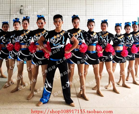 在教室里操楔_专胰楔制啦啦操服装,儿童,大人广播体操服装,竞技健美