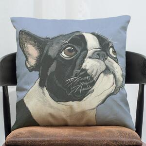 Cartoon Pet Puppy French Bulldog Bago Spotting SpongeBob Doll Cotton/Pillow Hold Pillowcase Sofa Cushion