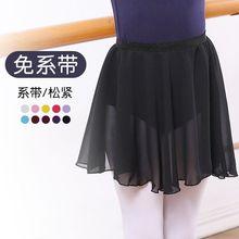 现货儿童新款舞蹈服装长ab8女童练功uo舞纱裙表演出服考级