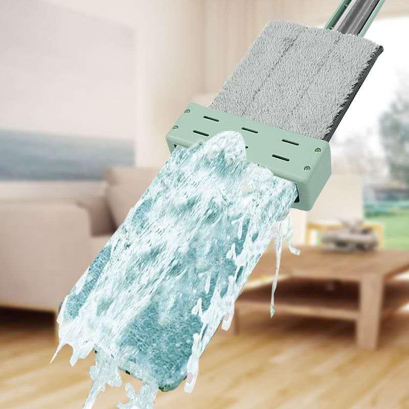 免手洗平板拖把木地板家用懒人干湿网红拖地神器一拖两用地拖布净