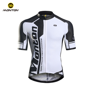Monton spring and summer cycling suit short top bike mountain bike equipment riding apparel streamer