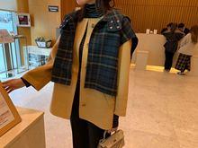 现货 特 韩国东大门yi7品代购女in品BAILOY两件套羊绒大衣