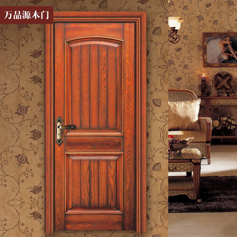万品源W-079美国红橡开放漆套装门/原木门/实木门/实木复合门