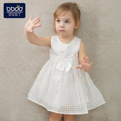 女童公主裙贝贝豆丁春夏季宝宝裙子婴儿连衣裙小女孩衣服礼服裙