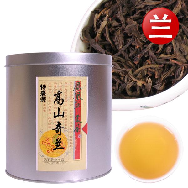 高山乌龙茶凤凰茶中小罐茶装乌岽单枞茶 凤凰单丛茶小罐茶奇兰茶