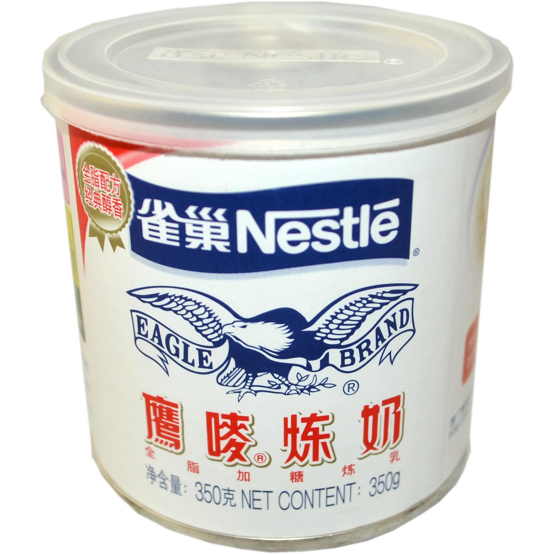 6罐起包邮雀巢鹰唛炼奶甜乳酱奶精炼乳制品350g面包烘焙原料