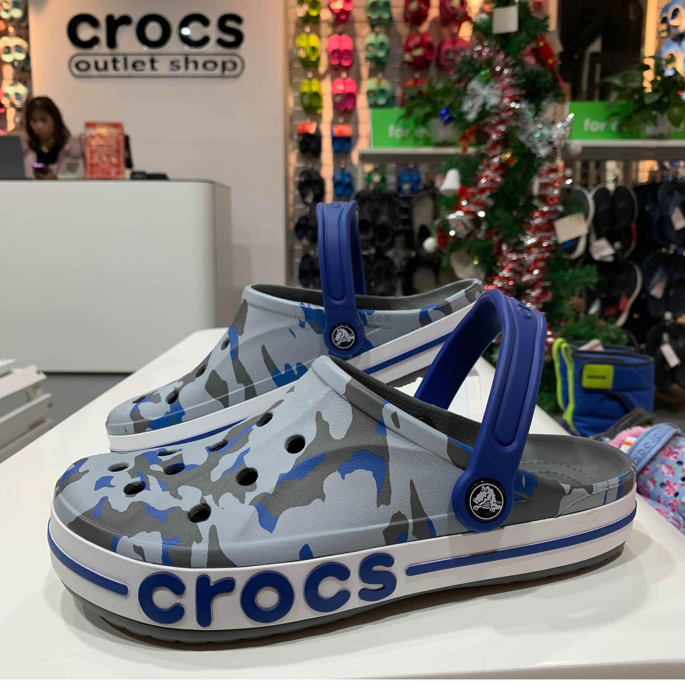 李佳琦推荐Crocs户外沙滩鞋洞洞鞋卡骆驰男女鞋 防滑凉拖鞋205089