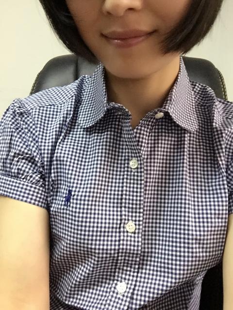 RL真品 女款柔美学院风 高支全棉面料短袖衬衫 三色可选