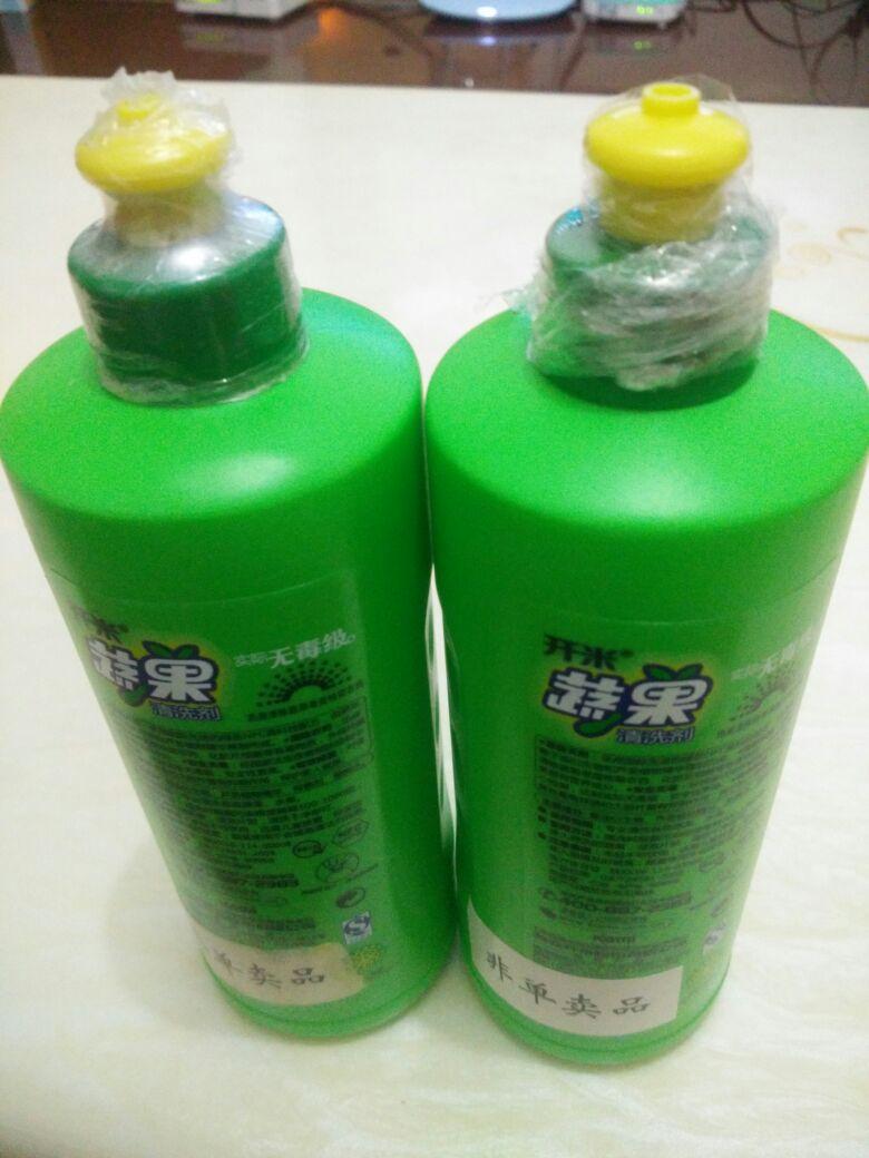 开米洗洁精蔬果清洗剂柠檬香型