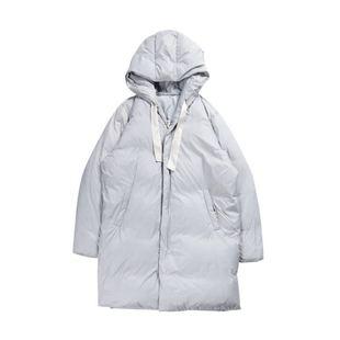 UO男装长款羽绒服时尚保暖长外套