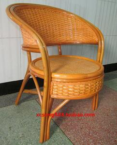 Indonesian rattan chair ring chair cool chair rough rattan chair lounge chair sofa chair outdoor chair residential furniture