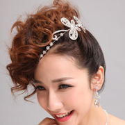 Honey made in Bridal headwear new jewelry tiara bridal wedding tiara hair accessories flower