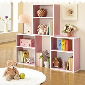 IKEA Home Conjoined Desk Cabinet Free Simple Bookshelf Residential Furniture Combination Bookcase Bookcase Cabinets