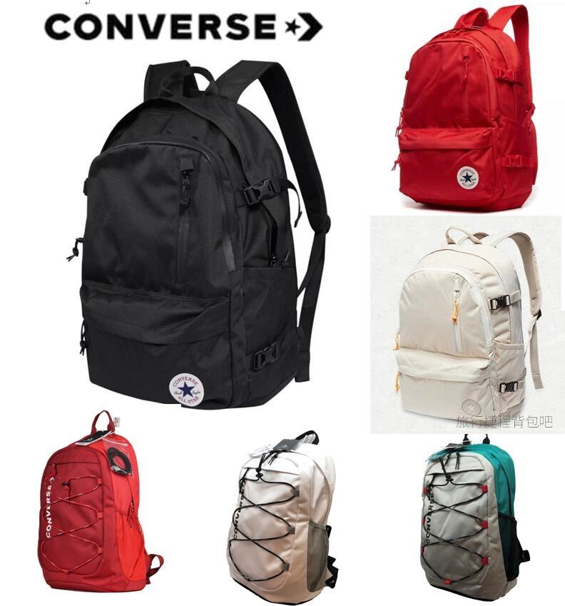 Converse匡威双肩包新款韩版电脑包男女旅游运动背包高大学生书包满100元减5元