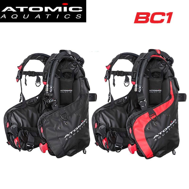 专业 Atomic BC1 BC2高配浮力控制调整器PVC防水涂层夹克式Atomic