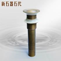 不鏽鋼洗手盆下水器面盆手池台盆排水軟管彈跳翻板去水器配件套裝