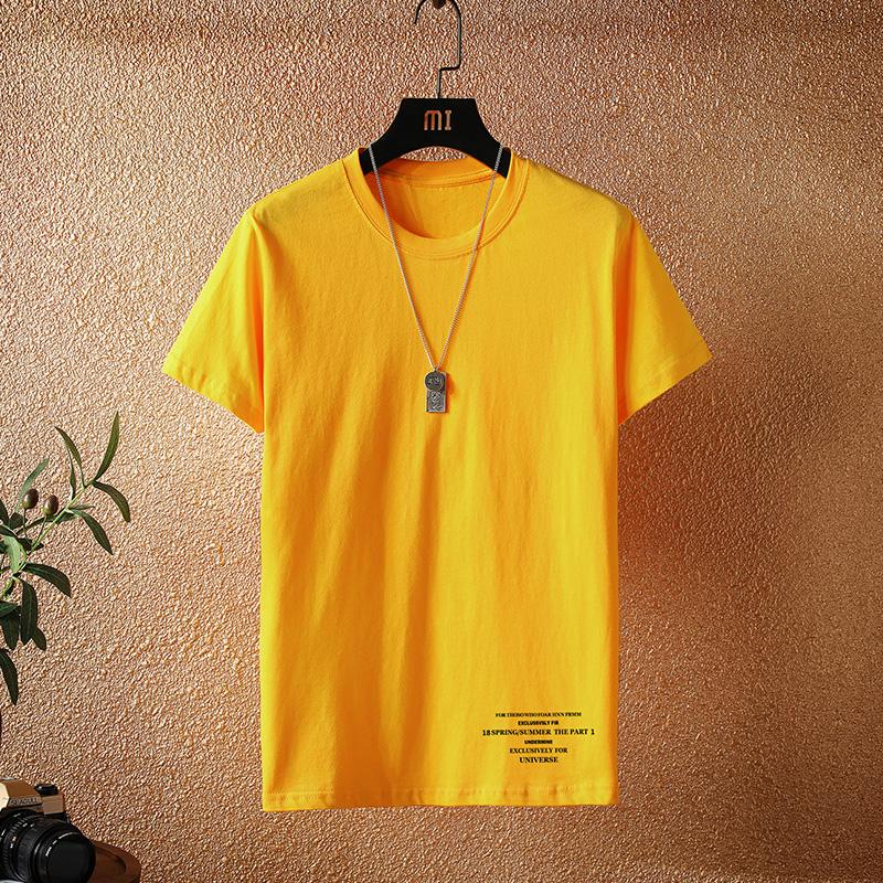 现货可代发 5色 2020夏季新款挂拍男士学生短袖T恤 A436-T06-P16