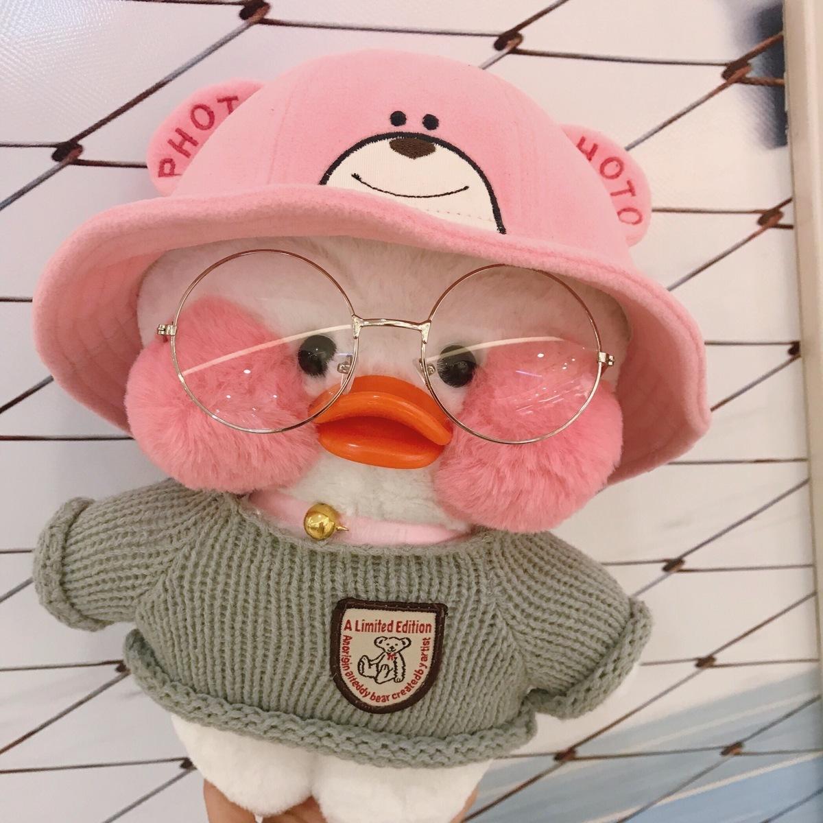 网红小黄鸭玻尿酸鸭公仔少女心娃娃生日礼物女生女孩毛绒玩具玩偶 19.90元
