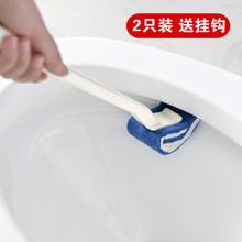日本马桶刷子家用长柄无死角软毛cu12所刷卫an桶清洁刷套装