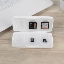日本进口内存sd卡收纳盒相机存储卡盒Cme16XD inM卡手机卡保护盒