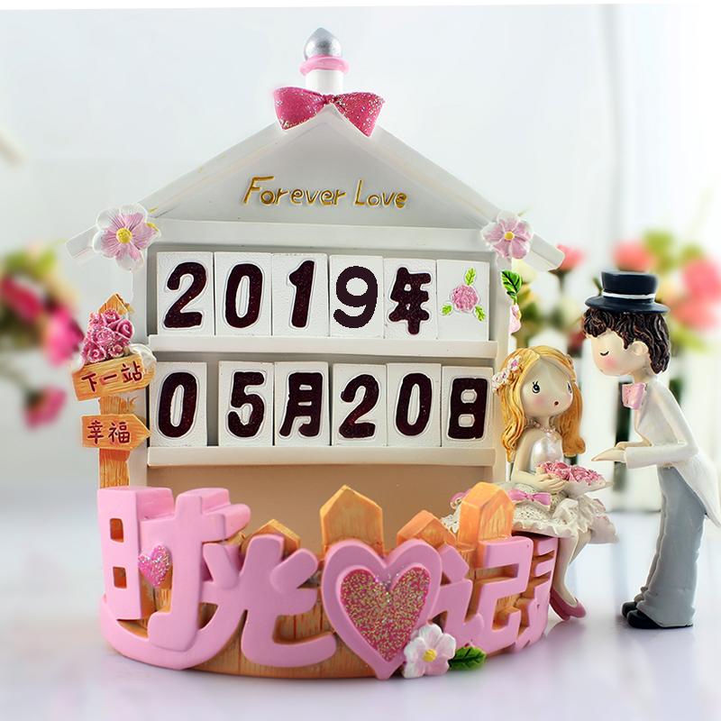 ������Ʒ:7夕情人节礼物送女友创意实用结婚礼物订婚纪念日礼品婚房摆件