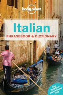 【预售】Lonely Planet Italian Phrasebook