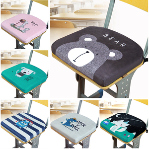 School Memory Cotton Mat Student Cushion Classroom Chair Winter Stool Chair Cushion Bench Cushion Dormitory Ass Pad