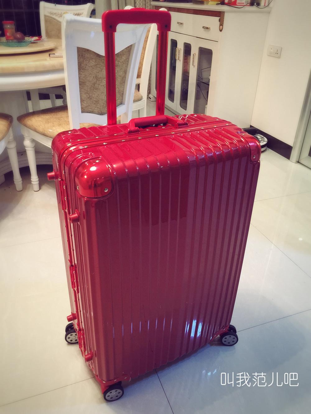 正品铝框拉杆箱旅行箱商务箱子万向轮202428寸学生行李箱包男女潮