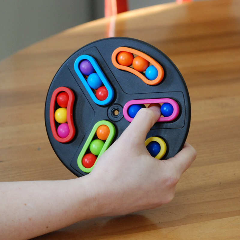 旋转魔珠智力魔盘益智减压魔方迷宫儿童思维游戏玩具圣诞节礼物