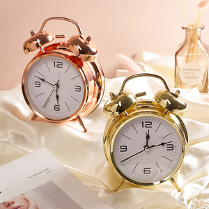 Creative home room student desk clock bedside ornaments decoration children's bedroom bedroom alarm clock personality furnishing alarm