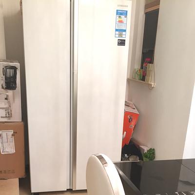 Samsung/三星 RH60J8132WW 609升蝶门对开门冰箱怎么样评价