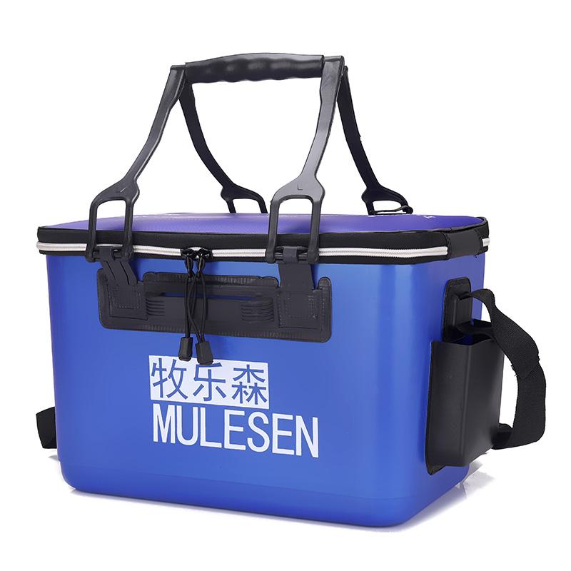 一体成型装鱼水桶加厚塑料EVA钓鱼桶装鱼桶活鱼护水桶渔具包