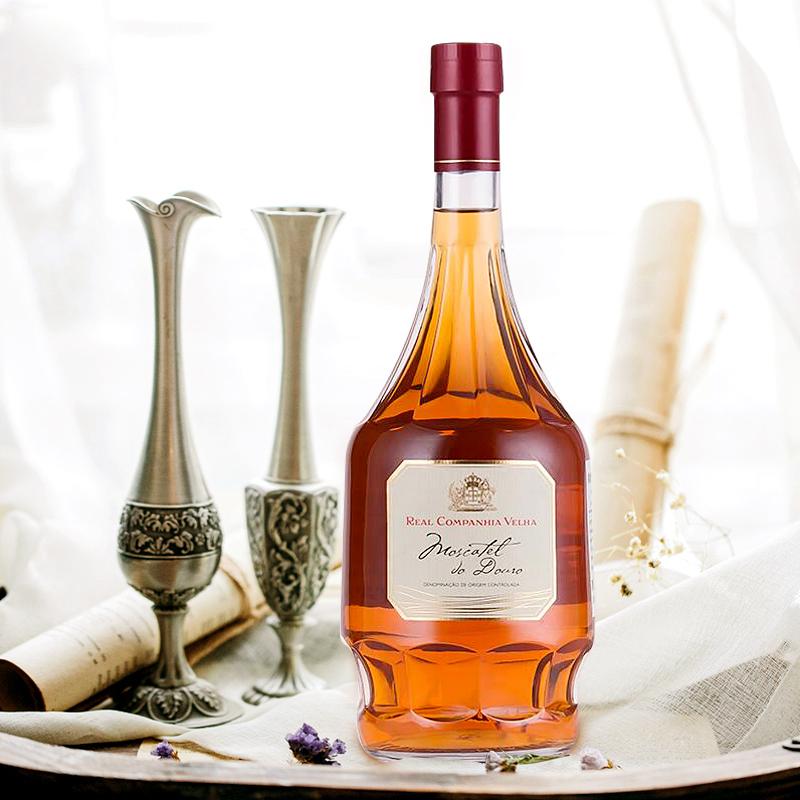 优雅白葡萄Royal Oporto麝香葡萄牙进口加强葡萄酒甜酒果酒红酒