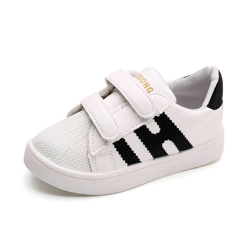 2儿童3板鞋4男童运动鞋5贝壳鞋复古潮鞋6岁女童单鞋春秋季小孩鞋